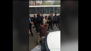 تصاویر برخورد ماموران شهری با دستفروشان در برخی از شهرهای ایران