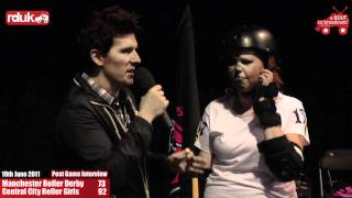 Manchester Roller Derby vs Central City Rollergirls (19/08/2011) - Post Bout Interview CCR