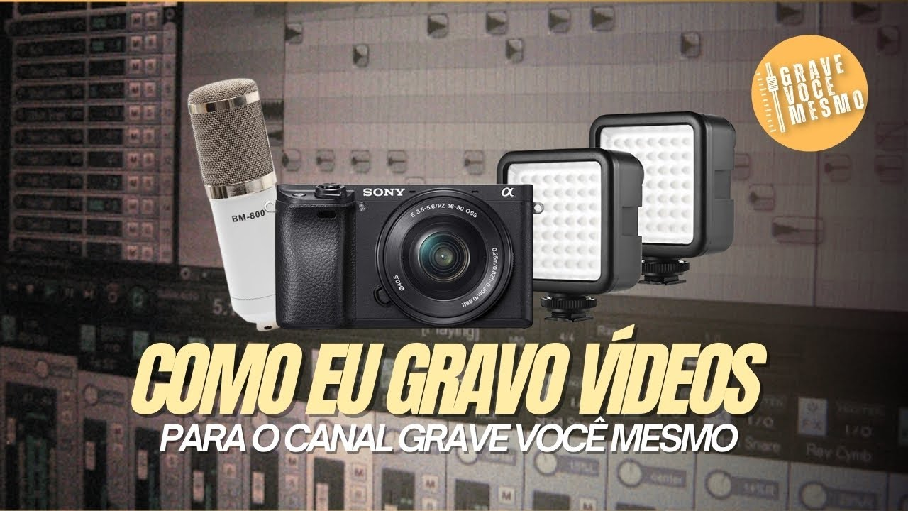 Como eu Produzo os Vídeos pro Canal?