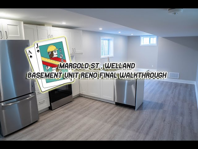 Marigold Basement Suite Walkthrough