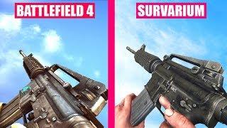 Battlefield 4 Gun Sounds vs Survarium
