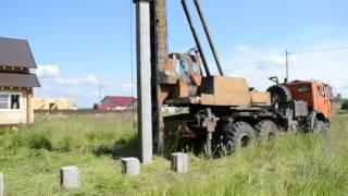 видео Ударная технология погружения забивных свай | Строительный справочник | материалы - конструкции - технологии