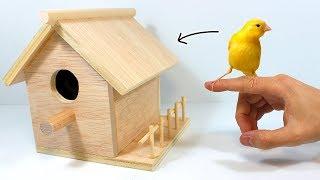 How to Make a Birdhouse or Bird Nest