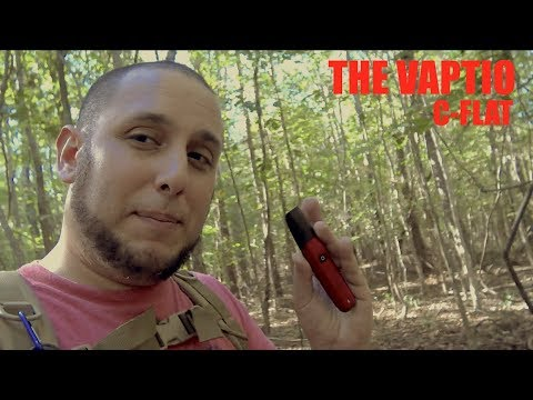 The Vaptio C-Flat Crosses a Vape Pen with a Clarinet with a Rape Whistle to Get a Good MTL Vape