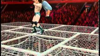 Sheamus VS. John Cena WWE SmackDown vs Raw 2011 hell in a cell