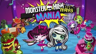 Monster High Minis Mania (iOS / Android) Gameplay HD