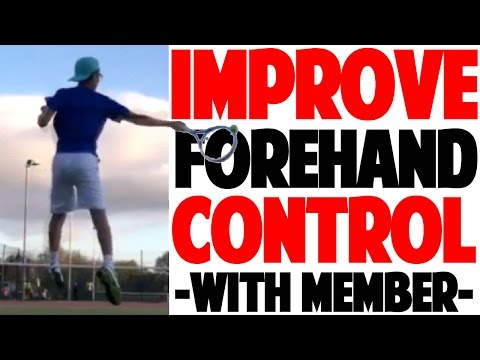 Tennis Forehand Tips To Improve Control: Real Member Analysis (Top Speed Tennis)