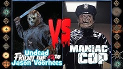 Jason Voorheese (Friday the 13th) vs Candyman (Clive Barker