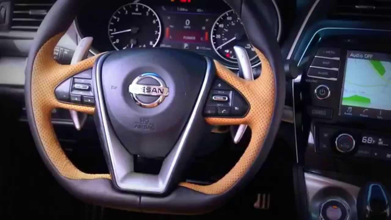 New 2016 Nissan Maxima Interior  YouTube