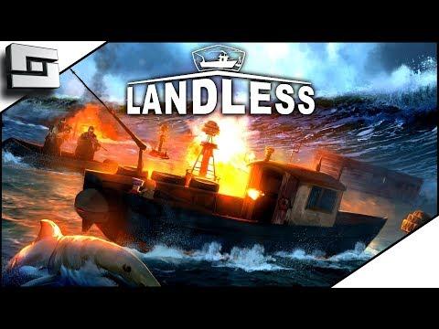 Waterworld The Game?! Landless Gameplay - Ep 1