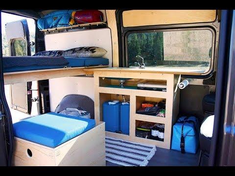 Simple Promaster Camper Van - walkthrough of buildout, by Wayfarer Vans