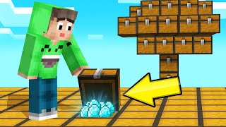 The ENTIRE WORLD Is Made Of CHESTS! (Minecraft)