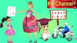 KN Channel Math For Kids Bé Làm Toán | BÚP BÊ LUCY NÓI DỐI MẸ