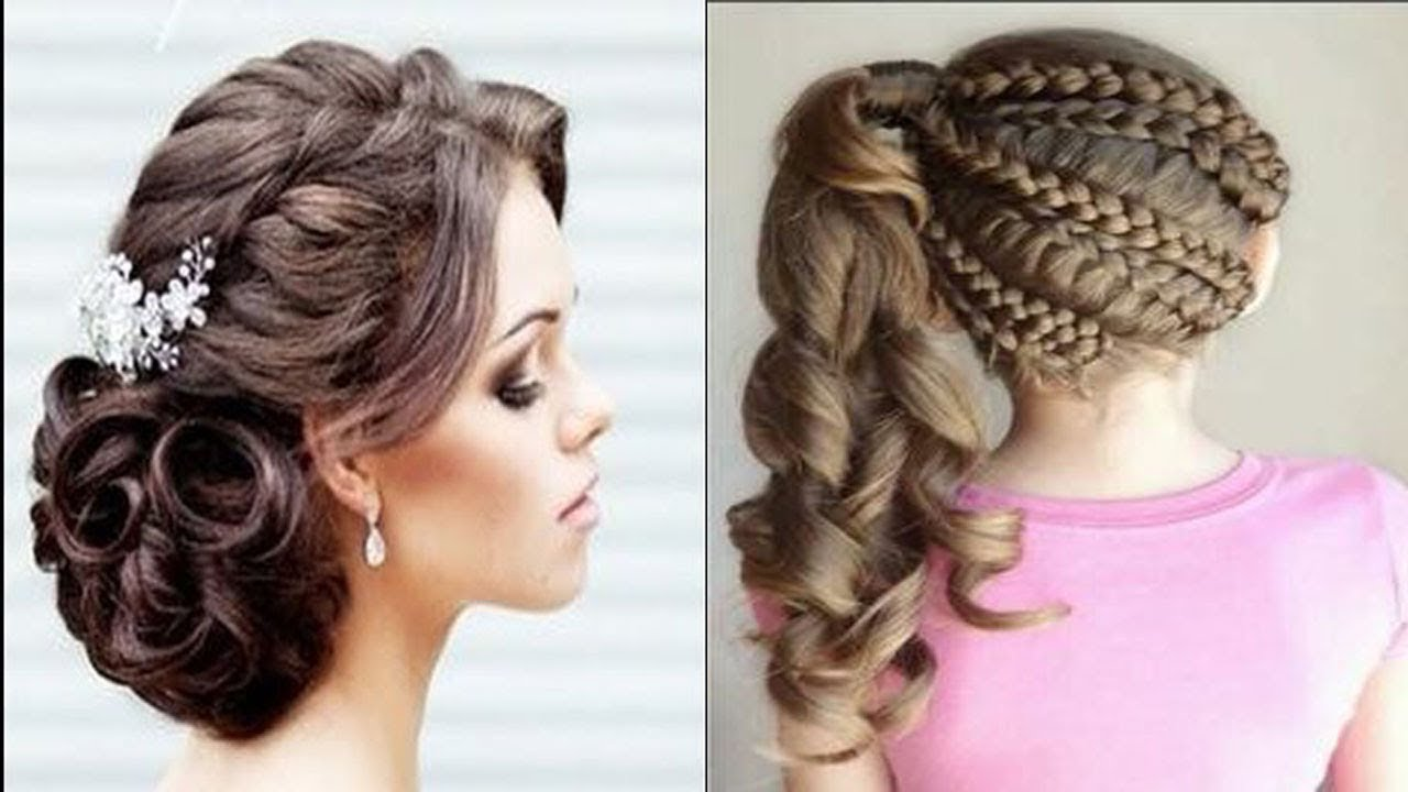 Hair Style Design: HOW TO MAKE HAIR STYLE FOR GIRLS 2018 NEW DESIGN VERY EASY