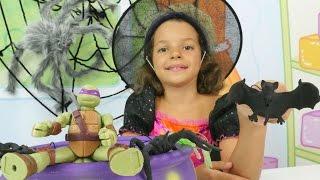 Играем с Ниндзя - Маленькая Ведьмочка Кати - Мультики для девочек