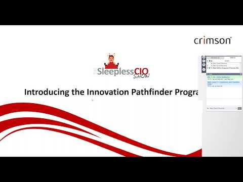 The Sleepless CIO Show - The Innovation Pathfinder Programme