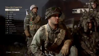New Call of Duty WW2 online multiplayer gameplay on PS4.
