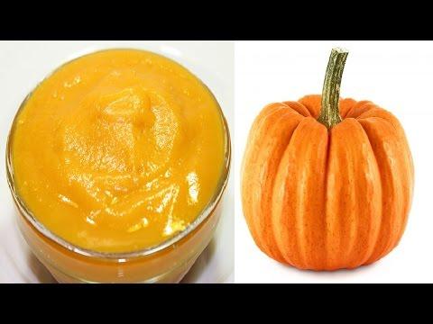 طريقة عمل بيوريه قرع العسل المخبوز في الفرن - هريس قرع العسل - هريس اليقطين