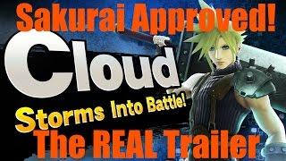 Sakurai's REAL Cloud Trailer (Smash Bros Wii U/3DS)