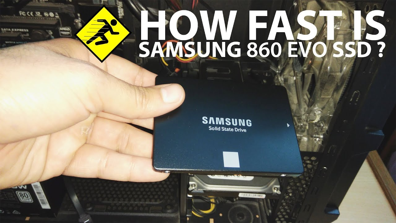Samsung 860 EVO Review and Installation