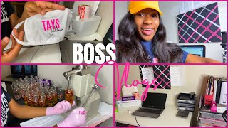 💖ENTREPRENEUR LIFE VLOG #4💖 |NEW INVENTORY,PACKING ORDERS,LIPGLOSS WHOLESALE,& MORE!|