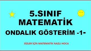 2019 5.SINIF ONDALIK GÖSTERİM -1-