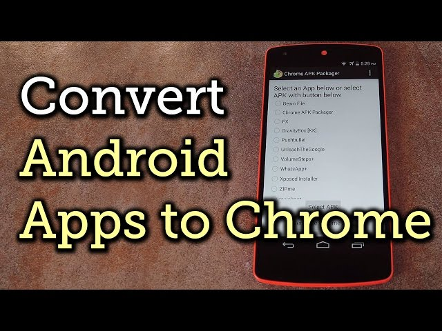 how to convert android phone into computer