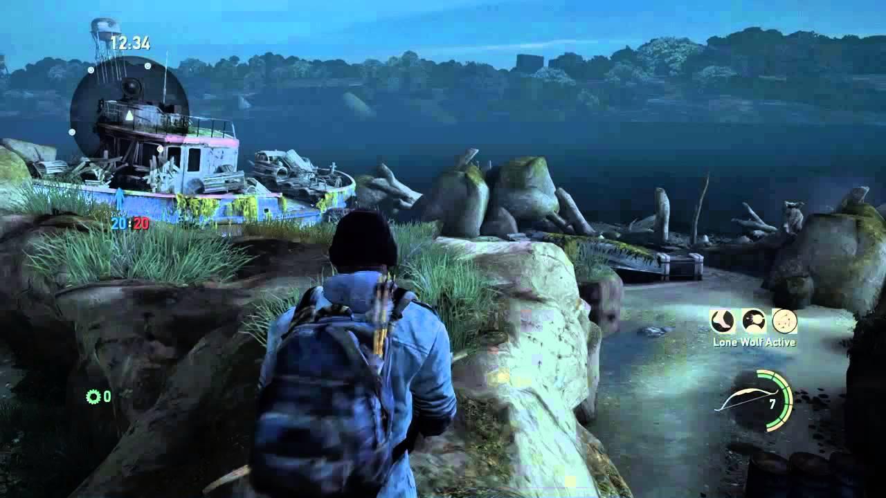 The Last of Us: Glitch Beach map