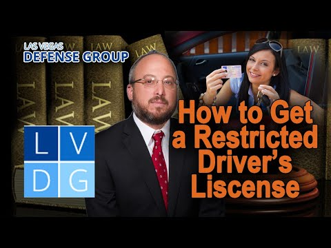 Can I get a temporary or restricted license after a Nevada DUI?