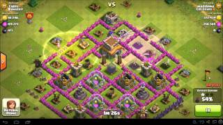Clash Of Clans 10 P.E.K.K.A Raid 800 000+ Loot