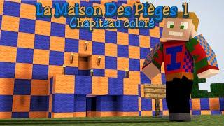 Minecraft - La Maison Des Pièges 1 - Le Chapiteau Coloré : Mon Passage En FaceCam !