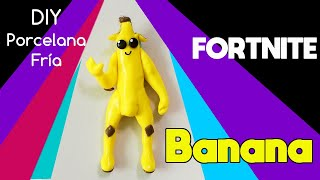 HOW TO MAKE SKIN BANANA FORTNITE - PORCELANA CYROS FRIA - Fortnite Battle Royal - Polymer Clay