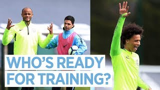CITY TRAIN AHEAD OF LEICESTER | Man City v Leicester, Premier League 2018/19