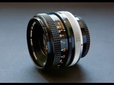 Canon Fd 50mm F 1 8 Lens Test On Samsung Nx 1000 Youtube