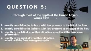 WINDPOWER    Ekman Layer Winds, Q 5 W