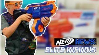 NERF NEWS: Nerf Elite Infinus CS-30 LEAKED! (Spring/Fall 2018 Guns)