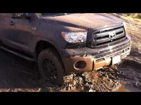 Off-Road in a 2010 Tundra