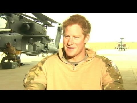 Prince Harry Interview on Military Service, Las Vegas Incident