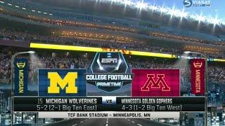 Michigan vs Minnesota Full game 31/10/2015 Week 9 College Football 2015