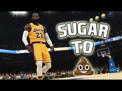 From Sugar To 💩!  NBA 2K19 STRIKES AGAIN!