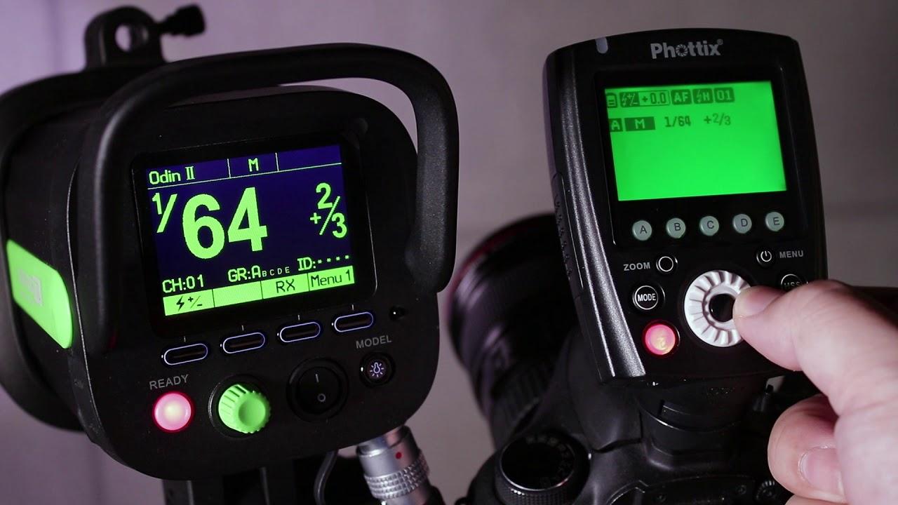 Phottix introduces Odin Z, a new OS for its lighting