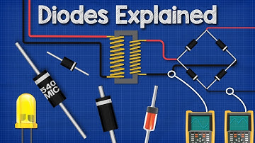 Diodes Explained - The basics how diodes work working principle pn junction