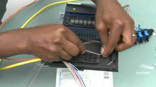 Splicing in a Reduced Length Splice Tray (M67-110)