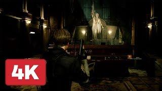 21 Minutes of Resident Evil 2 Remake Gameplay (4K) - E3 2018