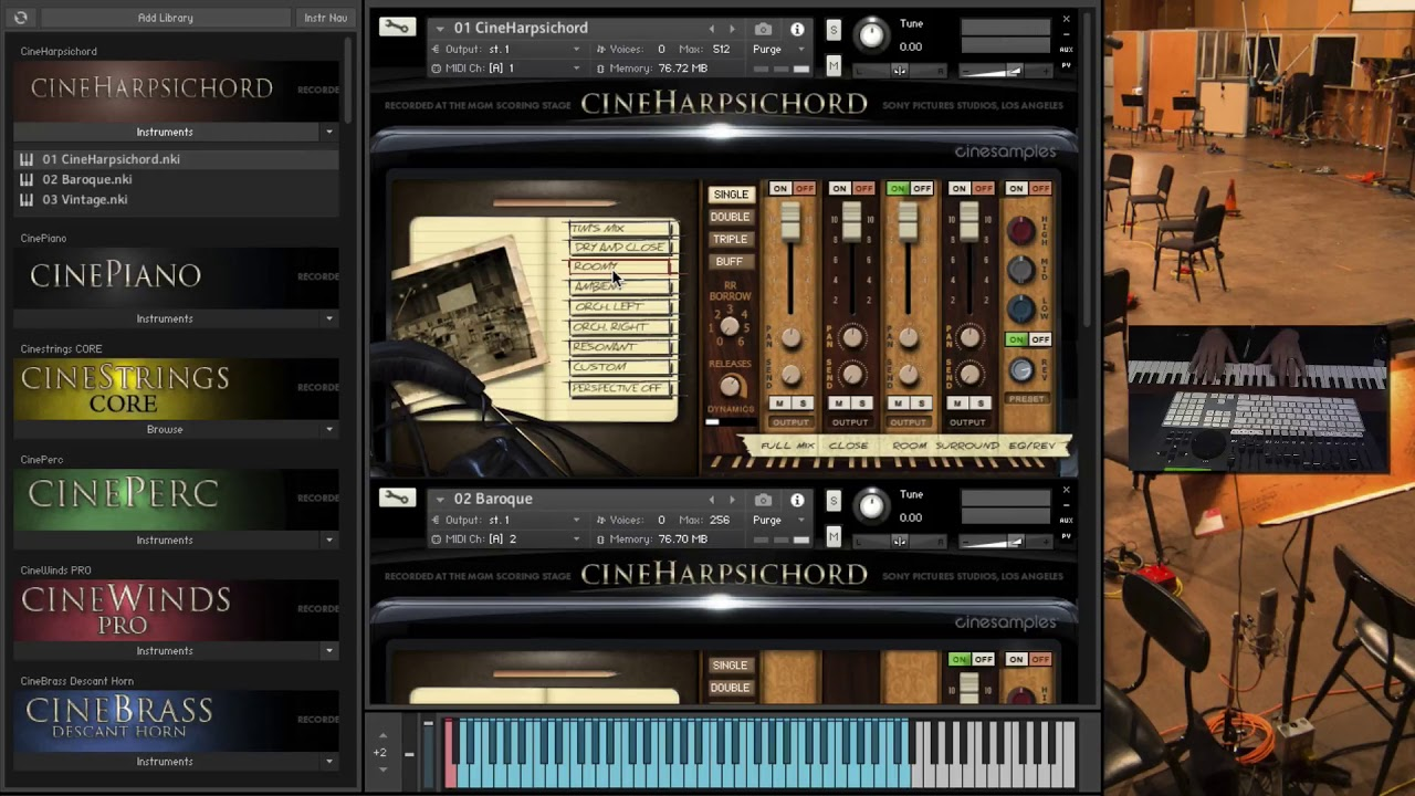 Cinesamples CineHarpsichord – Time+Space