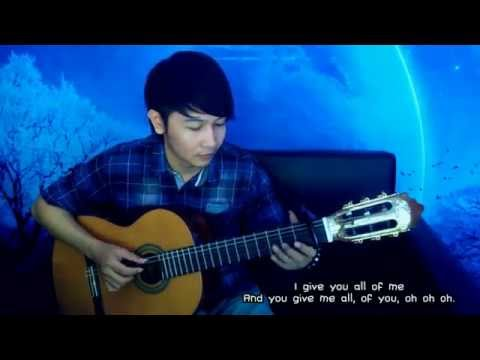 (John Legend) All Of Me - Nathan Fingerstyle