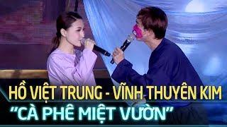 Hồ Việt Trung gây hài với khẩu trang độc lạ qua ca khúc 'Cà Phê Miệt Vườn' | Cặp Đôi Vàng Tập 8