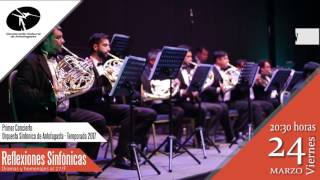 Spot invitación 1er Concierto Orquesta Sinfónica