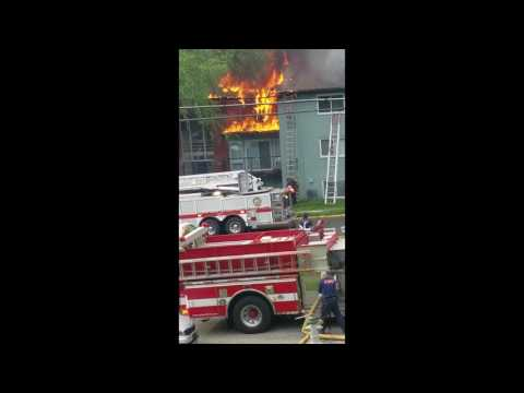 2nd Alarm Fire - 2517 Corning Avenue on April 23, 2017