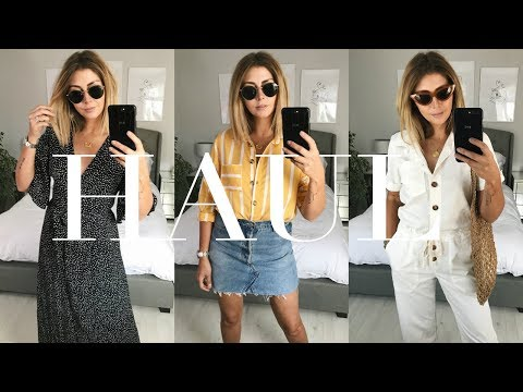 Summer Gifting Try On Haul | Topshop, & Other Stories, Sezane & More